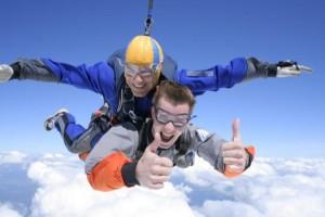 прыжок с парашютом на день рождения