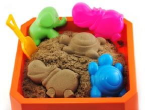 песочница с кинетическим песком