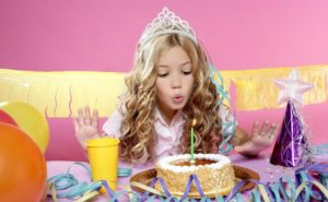 день рождения для принцессы