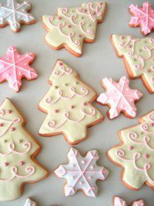 украшаем печенье