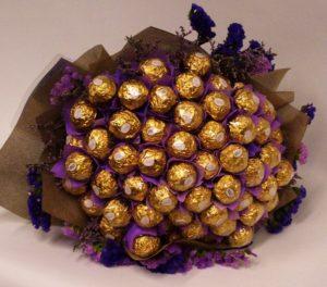 букет из конфет для учителя
