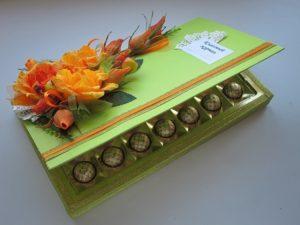 оригинальная коробка конфет