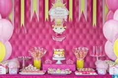 Pink and Yellow Princess-Table