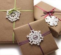как упаковать подарок в подарочную бумагу