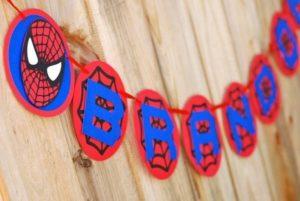 украшение комнаты человек паук