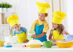 кулинарная вечеринка для детей