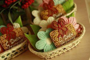 печенье день учителя